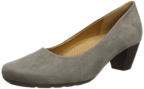 Gabor Brambling N, Damen Pumps, Grau (grey Nubuck Oil), 40 EU (6.5 UK)