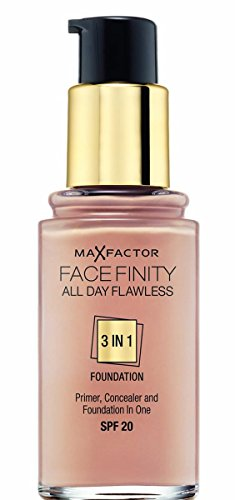 Max Factor Facefinity Todo El Día Impecable 3 En 1 Base 50 (natural) Spf20 30ml