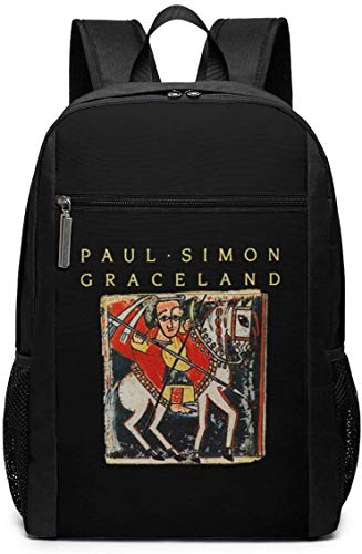 TTmom Mochilas Tipo Casual,Bolsa de Viaje Paul Simon Graceland Backpack Laptop Backpack School Bag Travel Backpack 17 Inch
