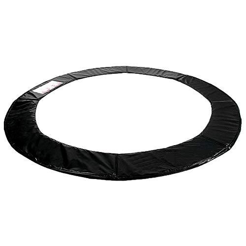 Kinetic Sports Randabdeckung für Garten - Trampolin mit ca. Ø 250 cm, Breite 26cm, UV beständig, reißfest, Outdoor und Indoor geeignet, SCHWARZ