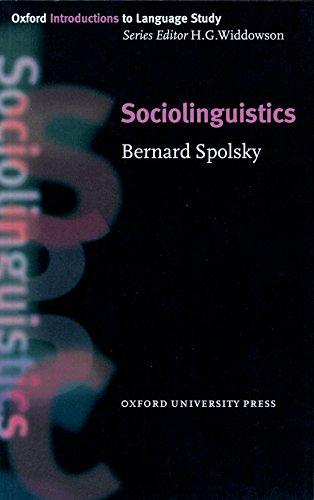 Sociolinguistics (Oxford Introduction to Language Study Series)の詳細を見る