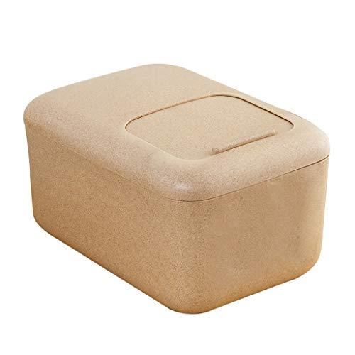 Jlxl grote huisdier voedsel container, 12 Kg tarwevezel Tick Mark opslag emmer droge hondenvoer Push-pull Cover bewaardoos met katrol