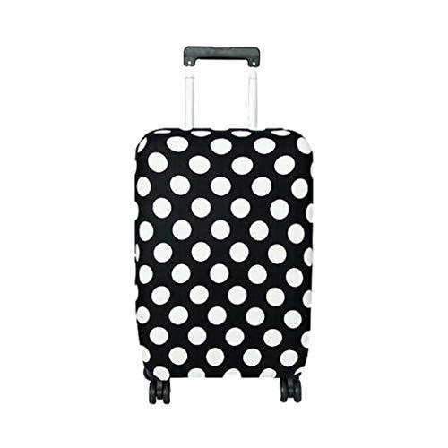 Mxssi Reisegepäck-Koffer Schutzabdeckung für Koffer-Koffer 18-28 Zoll Kofferabdeckung Elastic Perfectly