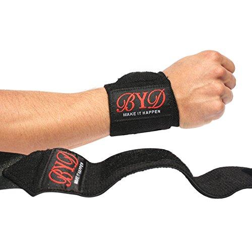 Beyond Dreams Sportbandagen für Handgelenk | Bandagen Fitness Zubehör für Männer Damen | Bodybuilding Wraps Handgelenkbandage für Training Sports | Krafttraining Handschuhe für Crossfit