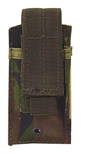 VooDoo Tactical Pistol Single Mag Pouch, Woodland Camo
