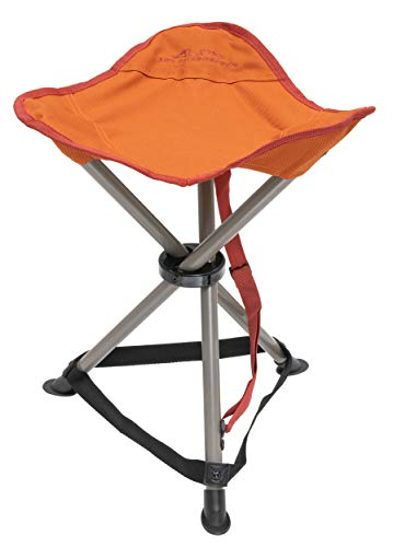 ALPS Mountaineering Tri-Leg Stool, Rust, 8120005