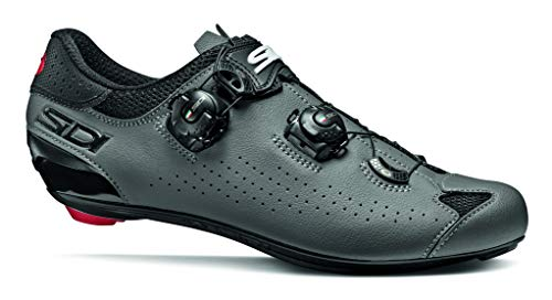 SIDI Shoes Genius 10, Scape Cycling Man, Black Grey, 43 EU