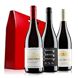 Ultimate French Red Wine Trio in Gift Box - 3 Bottles (