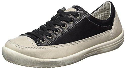 Legero Damen Tino Sneaker, Schwarz (Schwarz), 37.5 EU (4.5 UK)