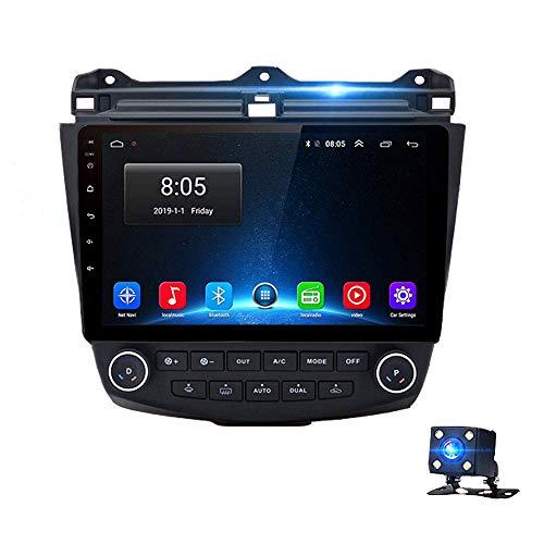KLL Radios para Auto 2G + 32G Android 9.0 4G WiFi Radio Coche Reproductor Multimedia para Honda Accord 7 2003 2004 2005 2006 2007 GPS de NavegaciKLLoacute;n de 2 DIN sin DVD