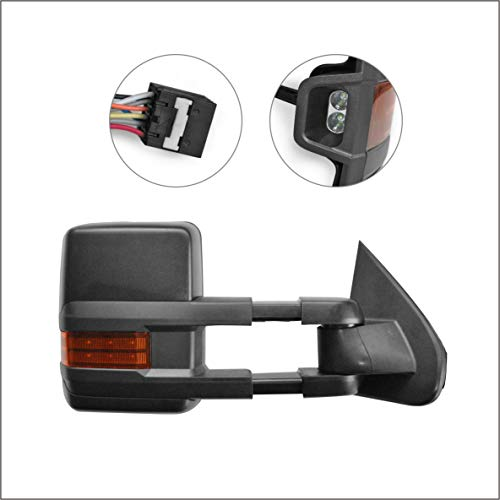 Learn More About Perfit Zone Towing Mirrors Replacement Fit for 2014-2017 Silverado Pickup Truck Sie...