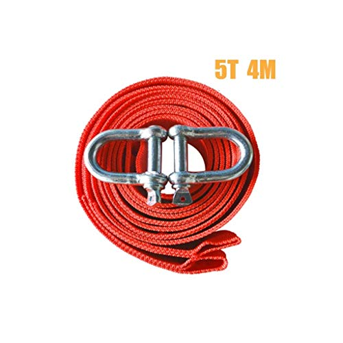 Why Should You Buy SGMYMX Towing Ropes Car Tow Rope, Thicker SUV Leash, 5 tons Tension Belt Hook, Po...