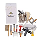 Beekeeping Supplies Tool Kit for Beginners and...