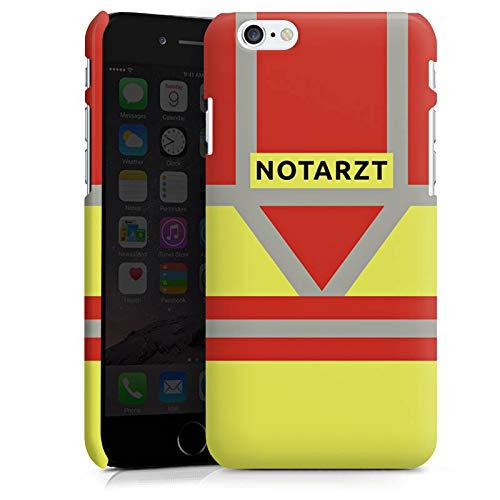 DeinDesign Premium Case kompatibel mit Apple iPhone 6s Hülle Handyhülle Notarzt Rettungssanitäter Rettungsdienst