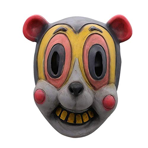 N\C Máscara de Halloween Cosplay The Umbrella Academy Accesorios de decoración de Fiesta Máscara de Cabeza de látex Máscaras Divertidas Novedad Animal Máscara de Halloween