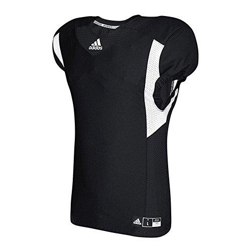 adidas Herren Techfit Hyped Football Jersey T-Shirt, schwarz/weiß, M