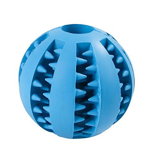 Galapara Hundefutter Ball,Hund Spielzeug Ball,Mint duftenden Chew Ball Spielzeug Pet Food Dispensing Treat Ball, Hundeball mit Zahnpflege-Funktion