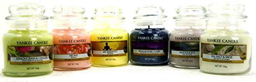 Collezione Ufficiale Yankee Candle Set di 6 x Signature Mini Piccolo barattoli