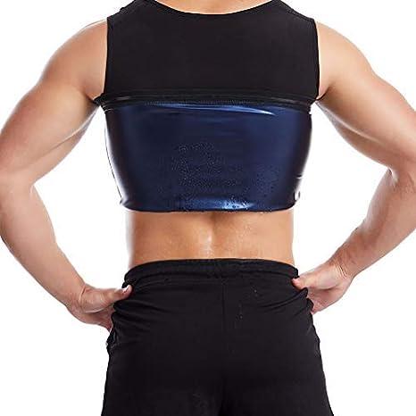 Workout Sauna Tank Top Slimming Shapewear F/ür Mann Fat Burning Abdomen Vest Fitness Sweatshirt F/ür Laufsportbekleidung Slimming Vest Korsett S//M HEITIGN Schwei/ßformer