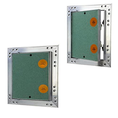 Revisionsklappe GK-Einlage 300 x 300 mm Gipskarton 12,5 mm