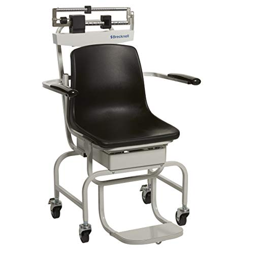Find Discount Brecknell CS-200M Chair Scale; 440lb Capacity, Perfect for Weighing Those Who Have Dif...