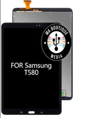 MBN MABOUTIQUEMEDIA - Completo LCD + táctil compatible con Galaxy Tab A 10.1 TM, color negro