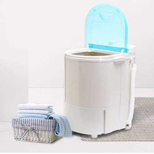 Einzelner Eimer Schalten Mini-Waschmaschine für Single Waschmaschine mit Trockner und Schleuder Campingwaschmaschine Billig Waschmaschine Menschen mit Babys und Student Beste Wahl