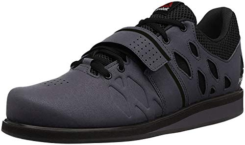Reebok Men's Lifter Pr Cross-Trainer Shoe, Ash Grey/Black/White, 9.5 M US