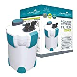 AllPondSolutions 2000EF Aquarium External Fish Tank Filter 2000L/H - Free Filter Media