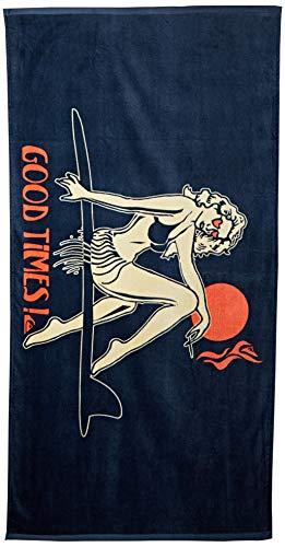 Quiksilver Toalla de Playa Freshness para Hombre, Sombra Oscura, 1 Unidad