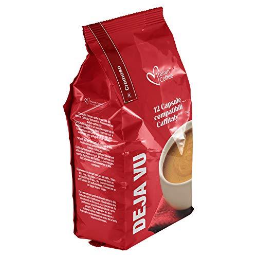 96 capsule Italian Coffee Caffè DejaVu CREMOSO compatibili Sistemi Caffitaly System-Professional-Coffee For You*(12cps. * 8 sacchetti)