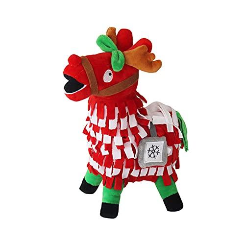 QIXIAO Juguete de Peluche de Pony - Supply Llama Llama Pelush Toys Toys Muñeca para Grandes fanáticos del Juego, Firgure Soft Firgure Videojuegos Troll Stash Animal Alpaca Girls para niños - 10 en