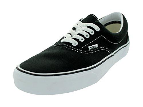 Vans Unisex-Erwachsene Era Classic Canvas Sneakers, Schwarz (Black BLK), 37 EU
