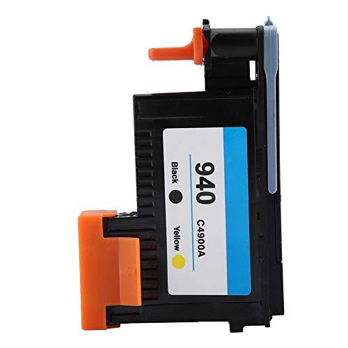 Cabezal de impresora para HP 940 C4900A C4901A Cabezal de impresión 3D de repuesto - Boquilla de impresión para HP Officejet Pro8000 / 8500 / 8500A Series cabezal de impresión (Amarillo negro)