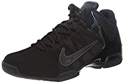 The Men's Nike Air Visi Pro IV NBK Basketball Shoe Black/Black