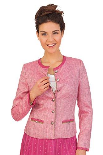 Damen Trachten Janker - LIENZ - rosa, Größe 36