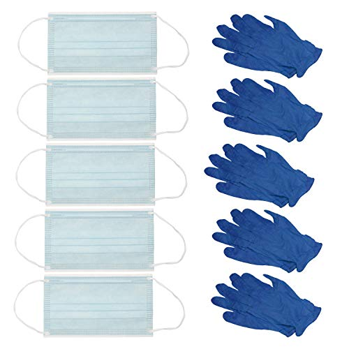 Rehabilitation Advantage PPE Go Kit - Protective Gloves & Face Masks
