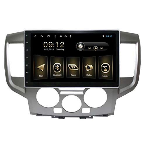 TOPNAVI 10.1Inch 2Din Auto Vidéo pour Nissan NV200 2010 2011 2012 2013 2014 2015 Android 8.1 Navigation GPS Radio Stéréo avec 2 Go de RAM 32 Go ROM WiFi 3G RDS Lien Miroir FM AM Bluetooth Audio