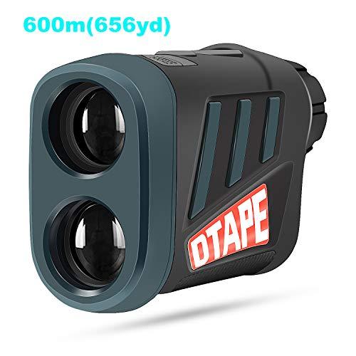 Vorstik Entfernungsmesser, DTAPE DT600 Jagd Golf Rangefinder Lasermessgerät mit 6 Facher Vergrößerung und Aufladbarer Batterie, IP54 Wasserdicht, Abstandsmessung 3~600m