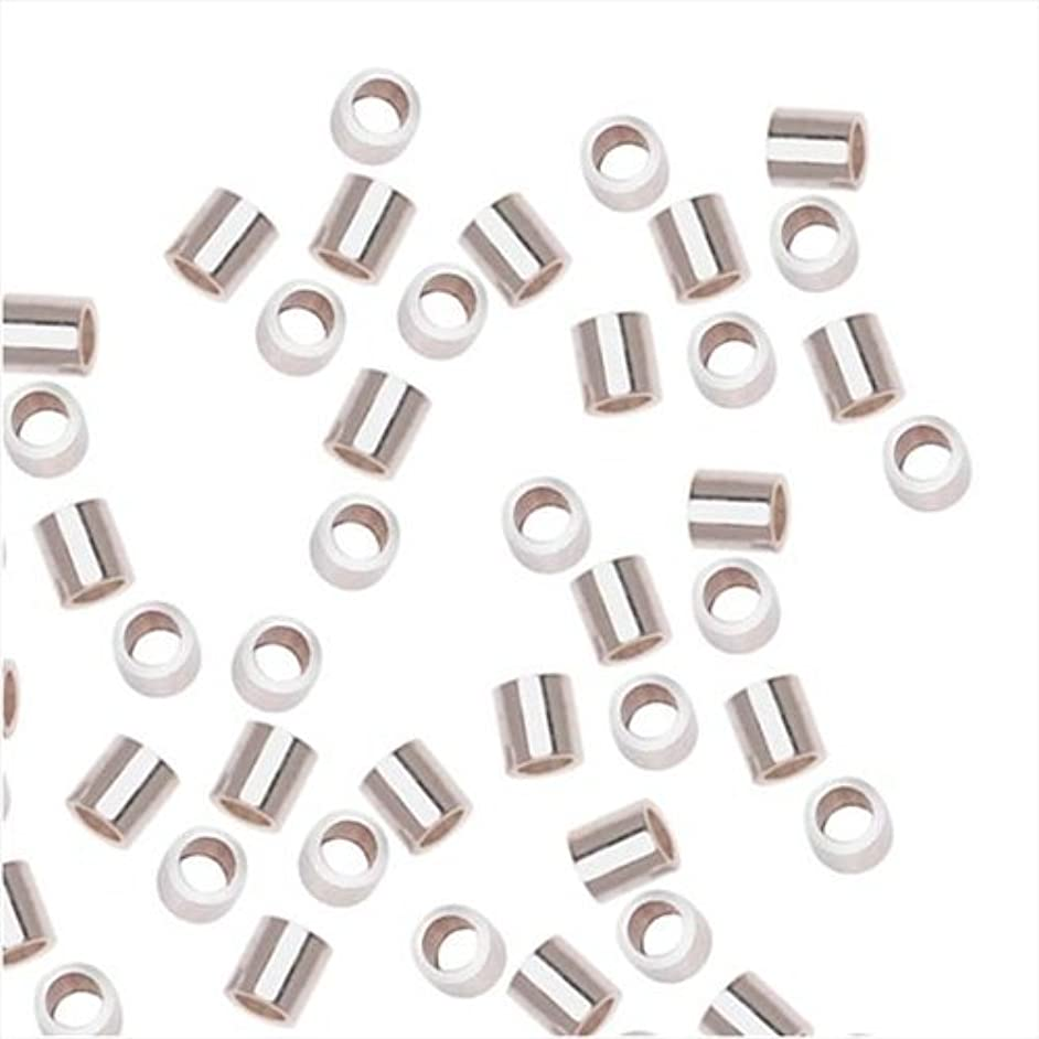 UnCommon Artistry Sterling Silver Crimp Beads 2x2mm (100)