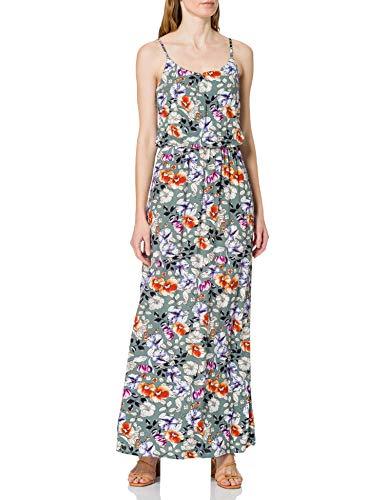 Only Onlnova Life Strap Maxi Dress AOP WVN 7 Vestido, Chinois Green/AOP:Dreamy Garden, 40 para Mujer