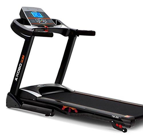 Kobo TM-257 2.5HP Motorised Treadmill with Auto Incline (Black, 2018 Model)