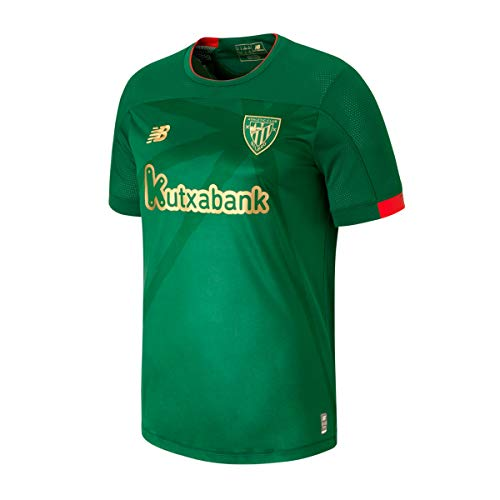 New Balance AC Bilbao Segunda Equipación 2019-2020 Niño, Camiseta, Green,...