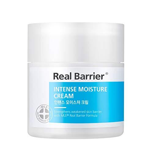 Real Barrier Intense Moisture Cream 50ml - Anti-Aging Feuchtigkeitscreme mit Hyaluronsäure & Ceramiden - K-Beauty Moisturizer für empfindliche Haut