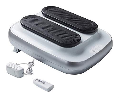 CRMY Ejercitador de piernas Sentado eléctrico con 5 Niveles, máquina de Caminar simulada automática de Baja Velocidad Ajustable para Promover la circulación sanguínea de Todo el Cuerpo