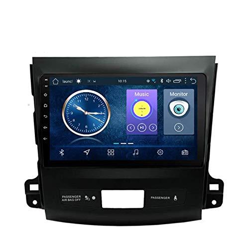 JALAL Navegador GPS para Coche Android 8,1 Pantalla táctil Completa de 9 Pulgadas para Mitsubishi Outlander 2006 2007 2008 2009 2010 2011 2012, Am FM RDS Auto Radio
