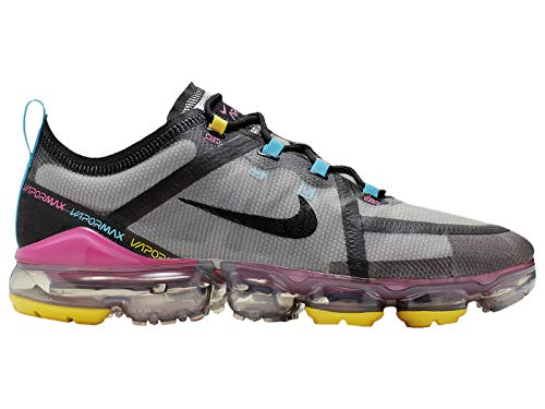 Price comparison product image Nike Men's Air Vapormax 2019 Moon Particle / Black / Pink Blast Synthetic Casual Shoes 10.5 M US