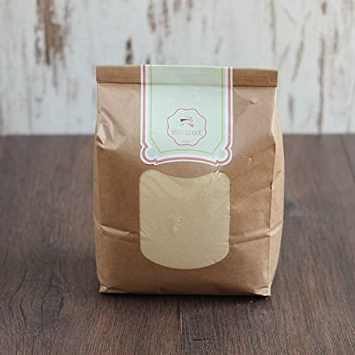 süssundclever.de® Bio Hartweizengrieß   Semola   2,0 kg   aus Italien   plastikfrei und ökologisch-nachhaltig abgepackt