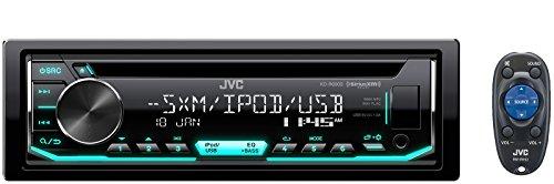 JVC-KD-R690S-CD-Empfaenger-mit-Front-USBAUX-EingangPandoraSiriusXM-ReadyVariable-Beleuchtung