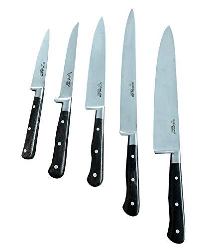 Laguiole en Aubrac col9 9cui Set de couteaux de cuisine Cuisine Manche en bois couteau de cuisine